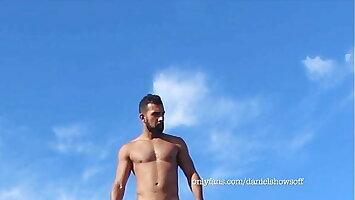 Naked On The Nudist Beach