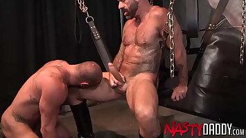 NASTYDADDY Michael Roman Foot Worships Daddy Drew Sebastian