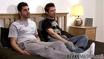 Anal for two British amateur men Jack Masters and Cole